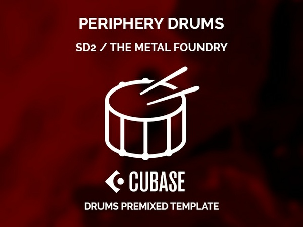 Superior Drummer 2 / Periphery style / Cubase Project