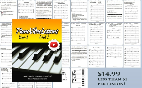 UNIT 3 [Year 1 PianoVideoLessons]