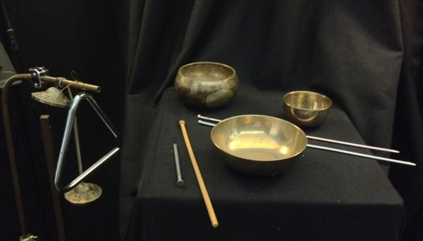 Bowls and tings - a percussion trio