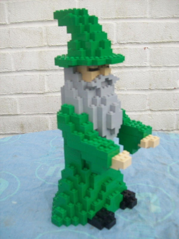 Instructions for Large Lego Harry Potter Dumbledore Wizard