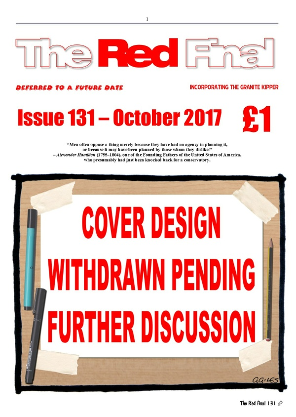 The Red Final, Issue 131
