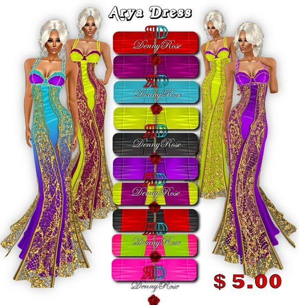ARYA DRESS TEXTURE HD