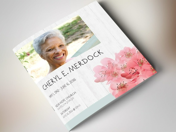 Magnolia Square Funeral Program - Publisher
