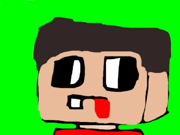 Minecraft cartoon avatar