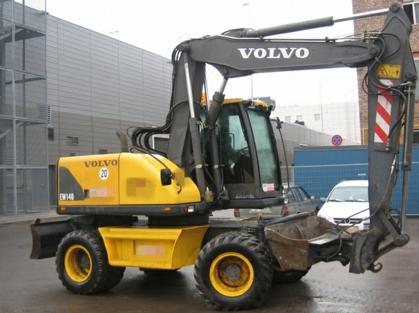 VOLVO EW140 WHEELED EXCAVATOR SERVICE REPAIR MANUAL - DOWNLOAD