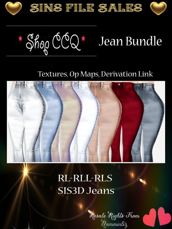 Woman Jeans Pack