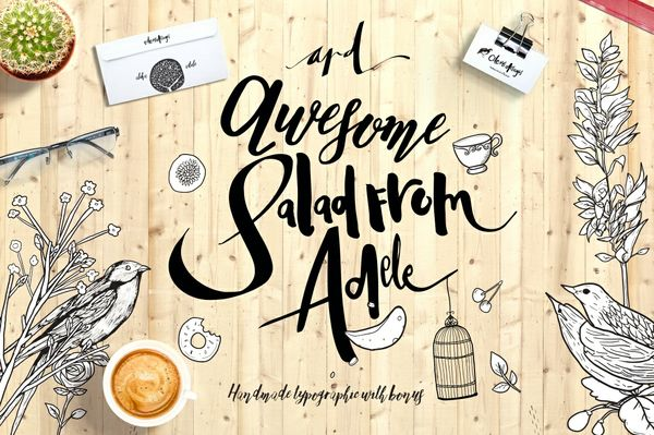 Adele 5 fonts+bonus inside !!!