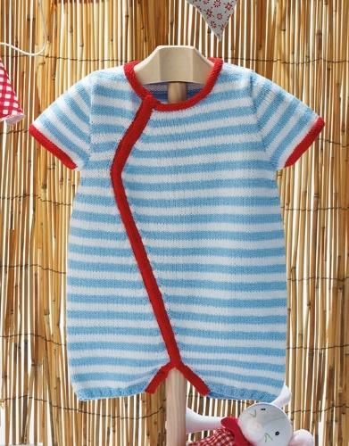 Striped Onesie