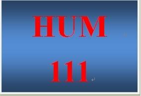 HUM 111 Week 5 Knowledge Check