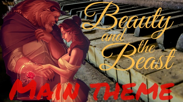 Beauty and the Beast - Main theme - Piano cover - Marco Tornatore