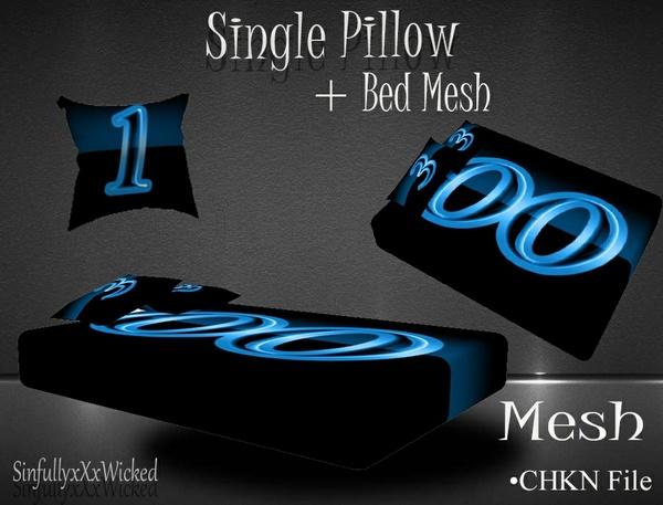 Bed + Bonus PIllow Mesh