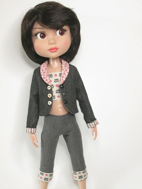 SSP-027: Coat for Wilde Patience dolls.