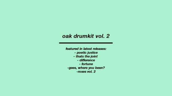 oak drumkit vol. 2