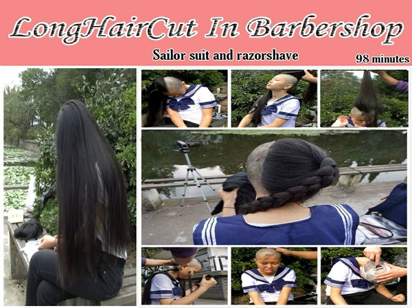 Sailor suit and razorshave