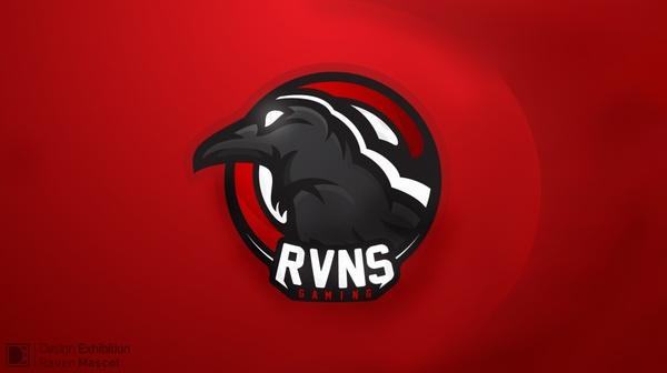 Raven Mascot Logo!