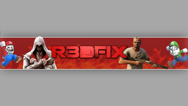 באנר ולוגו גיימינג לבחריתכם//Banner And Logo Gaming