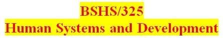 BSHS 325 All DQs