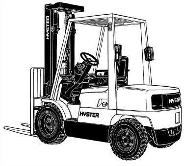 Hyster Lift Truck D187 Series: S2.00XM, S2.25XM, S2.50XM, S3.00XM, S3.20XML Service Manual