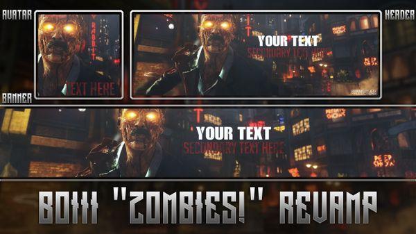 """Black Ops III """"Zombies!"""" Revamp Pack"""