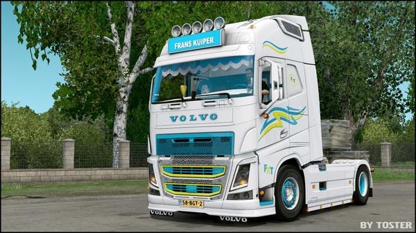 Volvo FH Frans Kuiper Transport ETS 2
