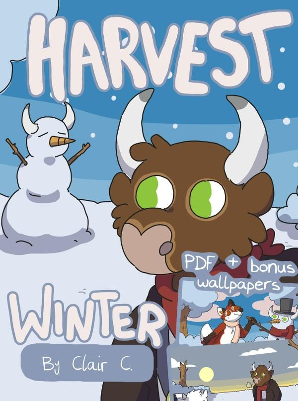 Winter Harvest PDF & Wallpaper Bundle