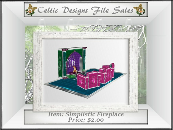 CD Simplistic Fireplace