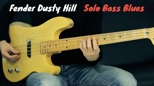 Bass Blues Solo - Tab