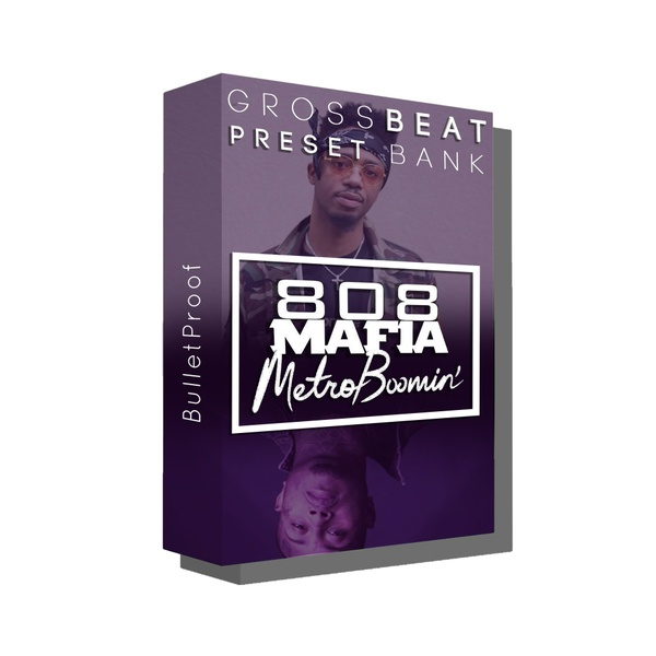 808 Mafia x Metro Boomin Secret Gross Beat Preset Bank