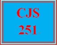 CJS 251 Week 4 Week Four CJi Interactive Media