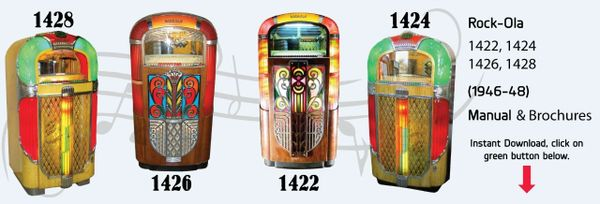Rock-Ola Model Series 1422-1424-1426-1428  (1946-48)