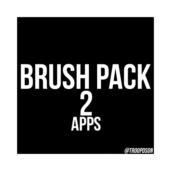 (APPS ONLY) Brush Pack 2