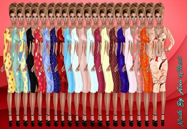 Kelia Print Dresses