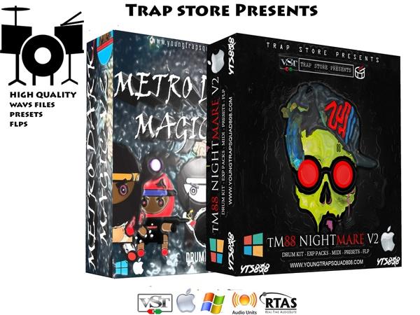 Collection : TM88 Nightmare V2 & Metro Dark Magic V2