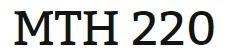 MTH 220 Week 5 Final Exam