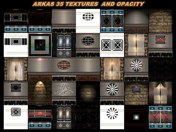 ARKAS 35 TEXTURES FOR IMVU ROOM
