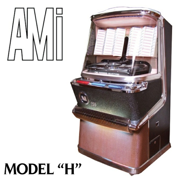 AMI  Model H H-100, H-120,  H 200, JDH-200 (1957-58)  Service Manual, Parts  & Brochure