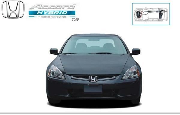 Honda Accord Hybrid 2005 Factory Service Manual