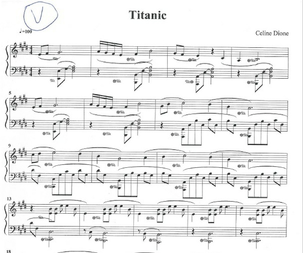 "Titanic Main Theme ""My Heart will go on"""