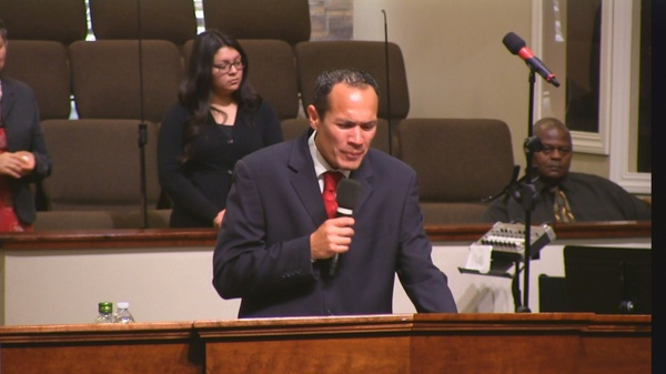 "Rev. Andrew Pangelina 01-14-18pm "" Go Make Disciples "" MP4"