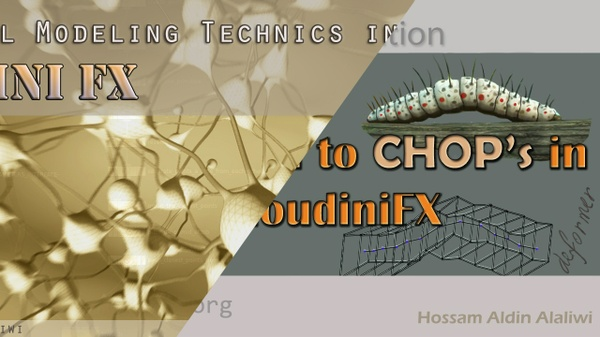 Procedural Modeling & CHOP's __ in Houdini FX