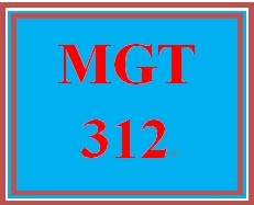 MGT 312 Week 1 participation WK 1 Electronic Reserve Readings