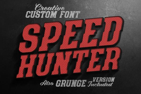 SpeedHunter Font
