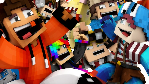 Minecraft Render Pack // 5 Minecraft Renders