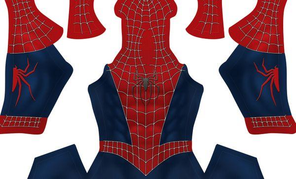 (FREE) Raimi's Spider-Man V2 pattern (Dark Blue)