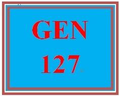 GEN 127 Week 2 Readiness & Behavioral Assessments