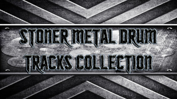 Stoner Metal Drum Tracks Collection