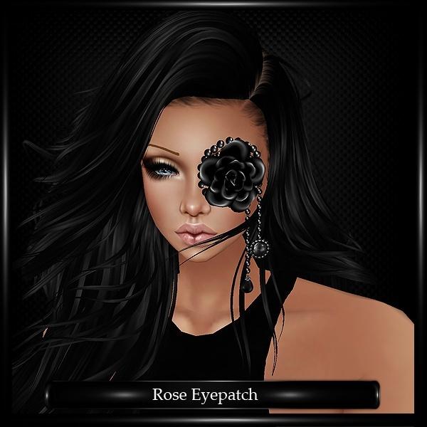 Rose Eyepatch Mesh