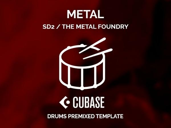 Superior Drummer 2 Metal Foundry / Preset + Cubase premixed project