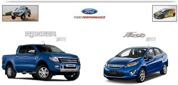 Ford Ranger & Fiesta 2011 Repair Service Manual