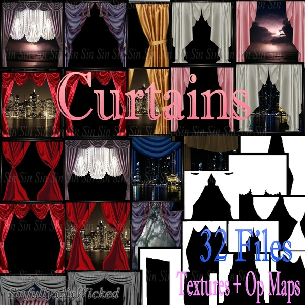 Curtain Collection (32 Files)